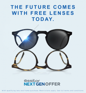 Next Gen lenses offer - call for details